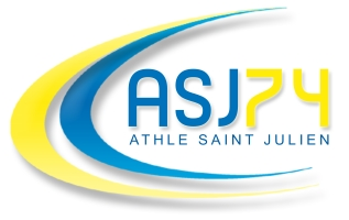 Logo Athlé Saint Julien 74