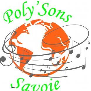 Logo du choeur mixte Poly'Sons de Savoie