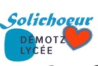 Logo du choeur de lycéens du Lycée Demotz de Rumilly (74)